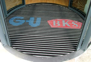 Logo Aluminium entrance matting