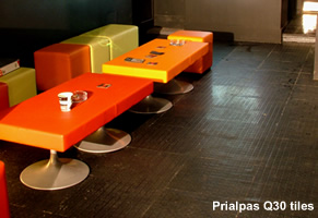 Prialpas Q30 square studded rubber tiles